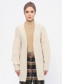 Stone - Acrylic -  - Knit Cardigans