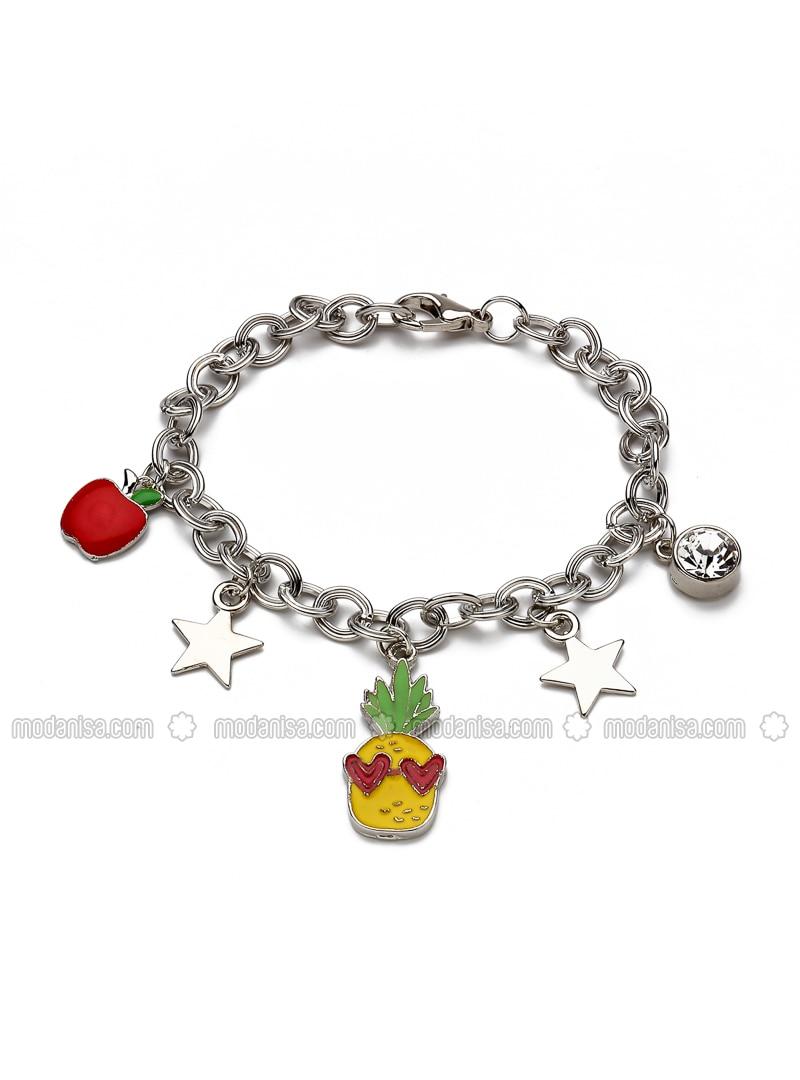 Silver tone - Bracelet - Modex