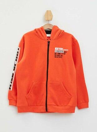 Orange - Boys` Cardigan