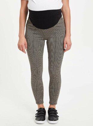 Brown - Maternity Pants