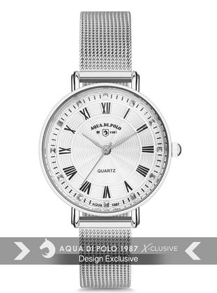 Silver tone - Watch - Aqua Di Polo 1987