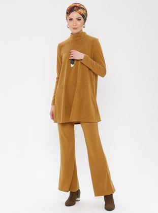 Mustard - Unlined -  -  - Suit