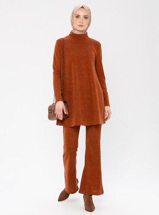 Terra Cotta - Unlined -  -  - Suit