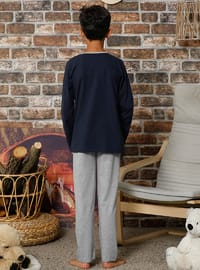 Navy Blue - Boys` Pyjamas