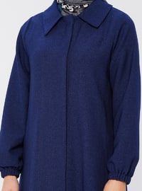 Indigo - Fully Lined - Point Collar - Topcoat