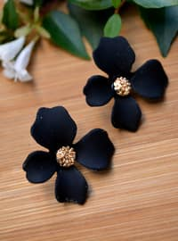 Black - Earring
