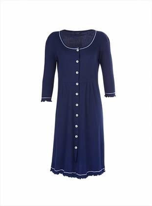 Navy Blue - Nightdress