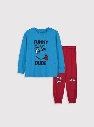Turquoise - Boys` Pyjamas