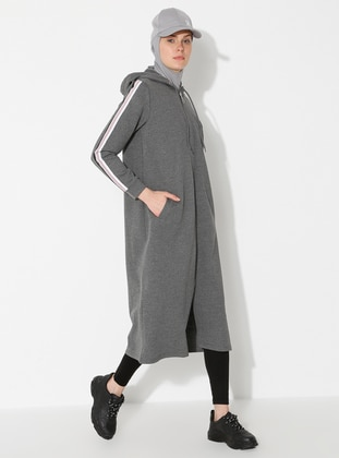 - Anthracite - Sweat-shirt - Saye Modest
