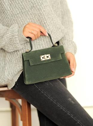 Green - Satchel - Clutch Bags / Handbags