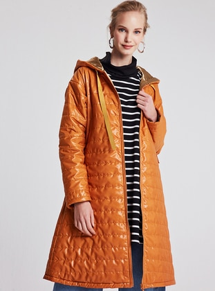 Mustard - Fully Lined - Puffer Jackets