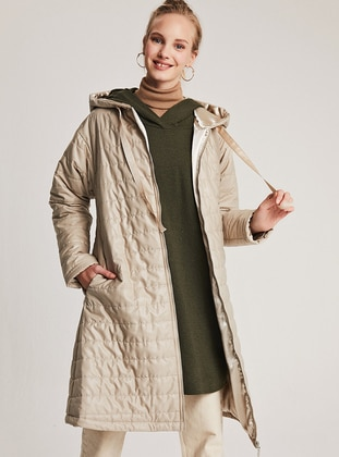 Stone - Fully Lined - Puffer Jackets