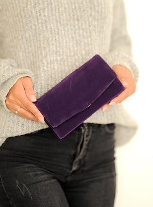 Purple - Clutch - Clutch Bags / Handbags