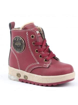Maroon - Boys` Shoes