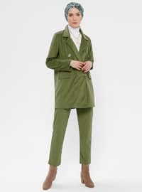 Khaki - Unlined - Suit