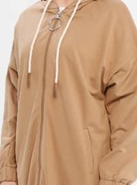 Brown -  - Sweat-shirt