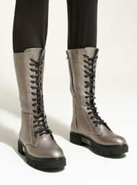 Silver - Boot - Boots