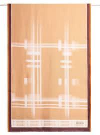 Silk Blend - Yellow - Printed - Shawl Wrap