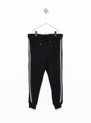 - Black - Boys` Sweatpants