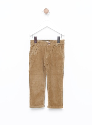 - Unlined - Gray - Boys` Pants