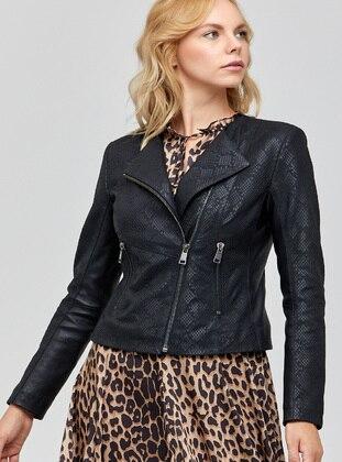 Black - Puffer Jackets - Derimod
