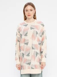 Powder - Multi - Crew neck -  - Tunic