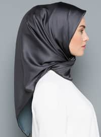 Anthracite - Plain - Scarf