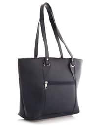 Navy Blue - Satchel - Shoulder Bags