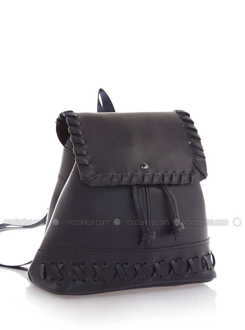 Navy Blue - Backpack - Backpacks
