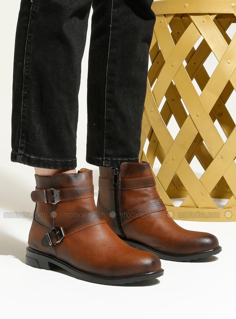 Tan - Tan - Boot - Boots