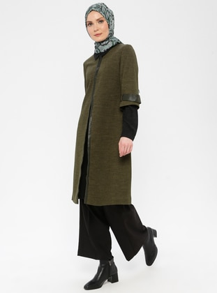 Khaki - Fully Lined - Wool Blend - Suit