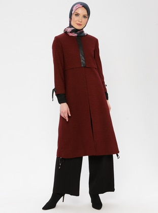 Maroon - Fully Lined - Wool Blend - Suit