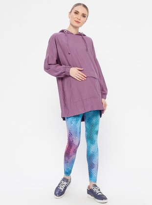 Blue -  - Maternity Pants