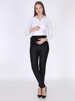 Black - - Maternity Pants