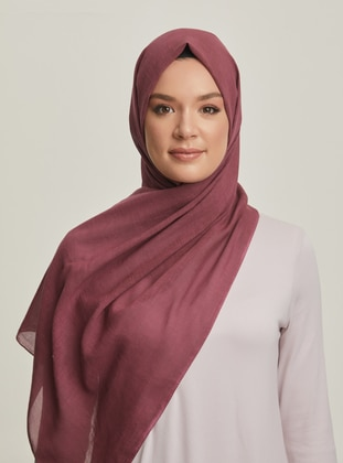 Cherry - Cotton - Shawl - Şal