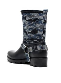 Blue - Boot - Boots