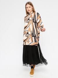 Black - Fully Lined - Skirt