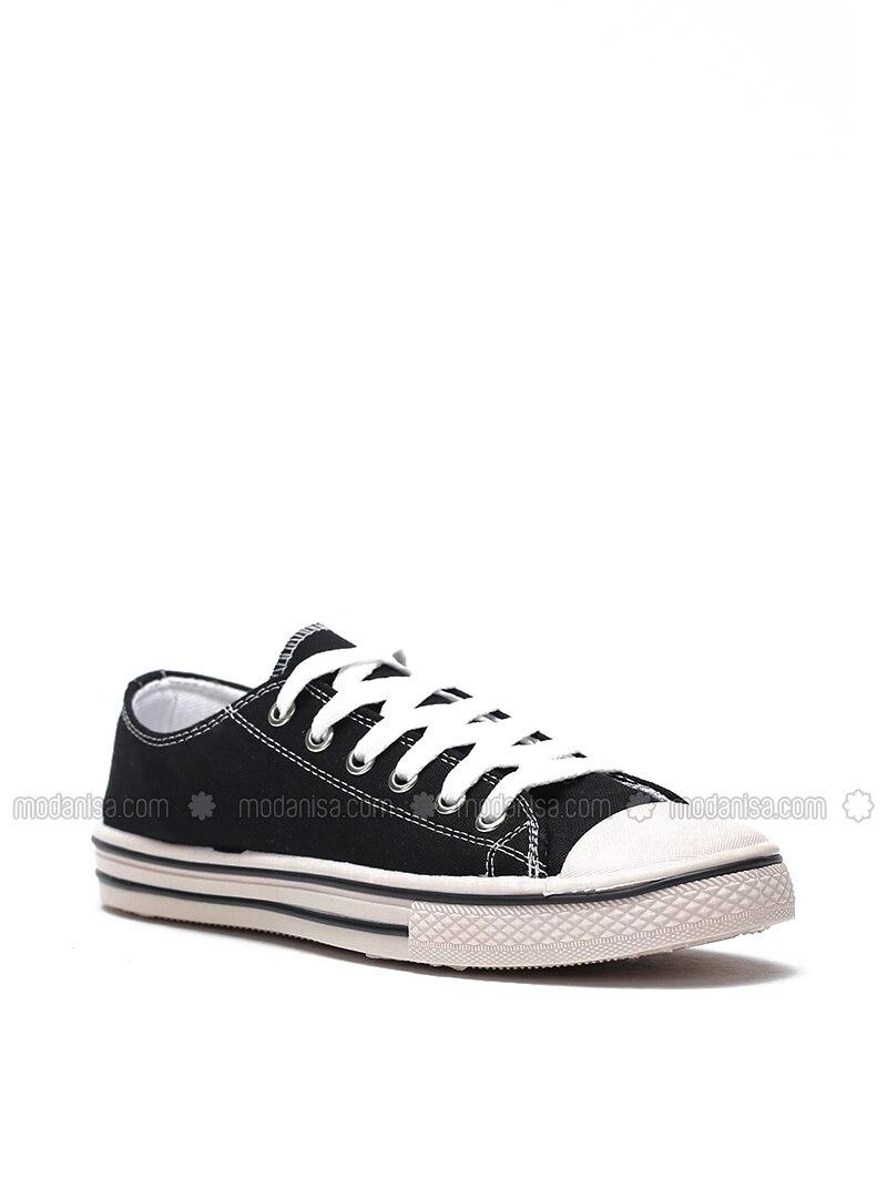 Cream - Black - Casual - Shoes