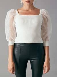 Ecru - Knitwear