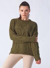 Khaki - Knitwear