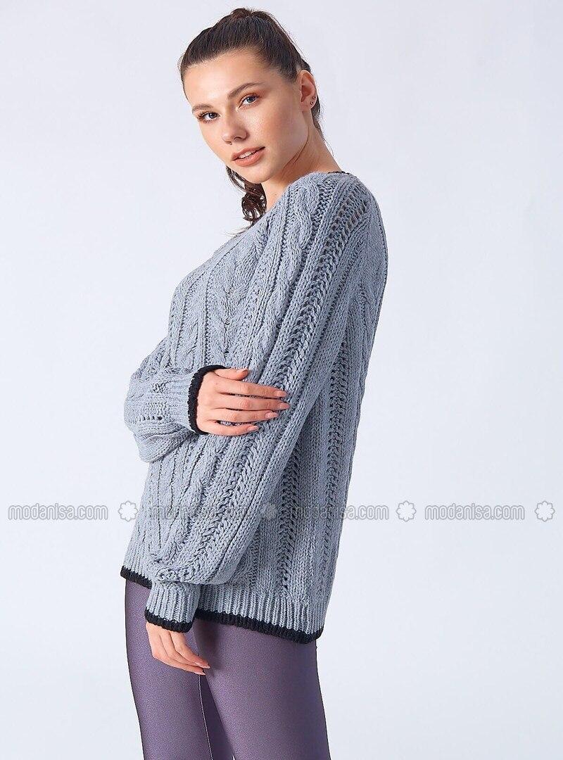 Gray - Knitwear
