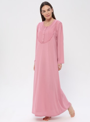 Dusty Rose - Sweatheart Neckline - Nightdress