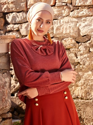 Cinnamon - Polo neck - Blouses