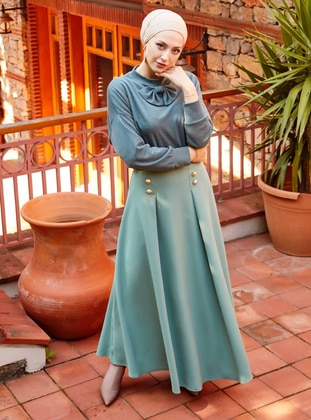 Mint - Fully Lined - Skirt