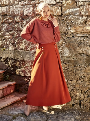 Cinnamon - Fully Lined - Skirt