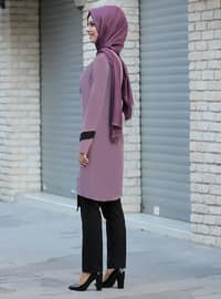 Dusty Rose - Unlined - Crepe - Suit