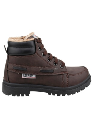 Brown - Boys` Boots - Ayakland