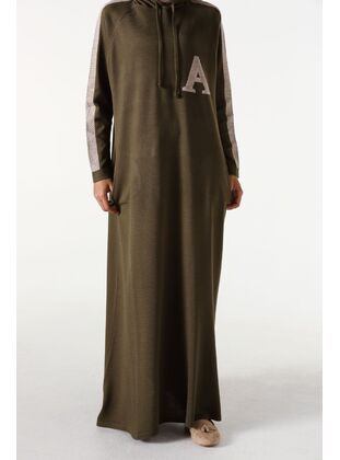Khaki - Plus Size Dresses