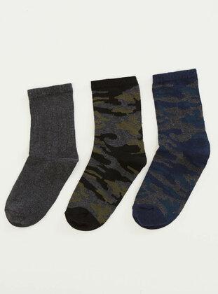 Khaki - Socks - DeFacto