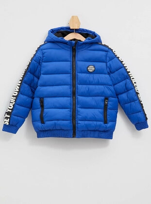 Blue - Boys` Jacket - DeFacto